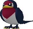 Schwalbini-Sprite aus Pokédex 3D Pro