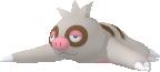 Bummelz-Sprite aus Pokédex 3D Pro