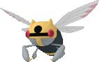 Ninjask-Sprite aus Pokédex 3D Pro
