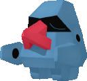 Nasgnet-Sprite aus Pokédex 3D Pro