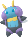 Illumise-Sprite aus Pokédex 3D Pro