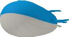 Wailord-Sprite aus Pokédex 3D Pro