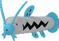 Schmerbe-Sprite aus Pokédex 3D Pro