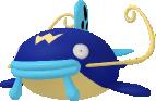 Welsar-Sprite aus Pokédex 3D Pro