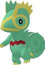 Kecleon-Sprite aus Pokédex 3D Pro
