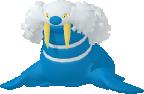 Walraisa-Sprite aus Pokédex 3D Pro