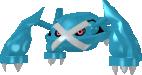 Metagross-Sprite aus Pokédex 3D Pro