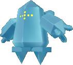 Regice-Sprite aus Pokédex 3D Pro