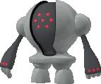 Registeel-Sprite aus Pokédex 3D Pro