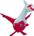 Latias-Sprite aus Pokédex 3D Pro