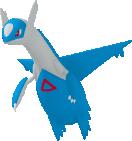 Latios-Sprite aus Pokédex 3D Pro
