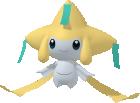 Jirachi-Sprite aus Pokédex 3D Pro
