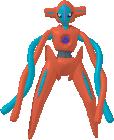 Deoxys-Sprite aus Pokédex 3D Pro