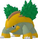 Chelcarain-Sprite aus Pokédex 3D Pro