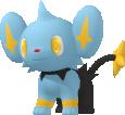 Sheinux-Sprite aus Pokédex 3D Pro