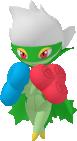 Roserade-Sprite aus Pokédex 3D Pro