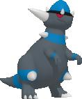 Rameidon-Sprite aus Pokédex 3D Pro