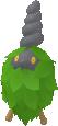 Burmy-Sprite aus Pokédex 3D Pro