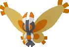 Moterpel-Sprite aus Pokédex 3D Pro