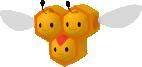 Wadribie-Sprite aus Pokédex 3D Pro