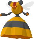 Honweisel-Sprite aus Pokédex 3D Pro