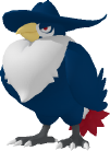 Kramshef-Sprite aus Pokédex 3D Pro