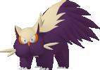 Skunkapuh-Sprite aus Pokédex 3D Pro