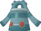 Bronzong-Sprite aus Pokédex 3D Pro