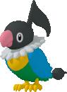 Plaudagei-Sprite aus Pokédex 3D Pro
