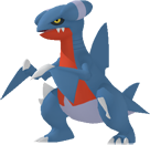 Knarksel-Sprite aus Pokédex 3D Pro