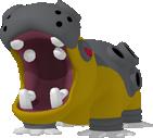 Hippoterus-Sprite aus Pokédex 3D Pro