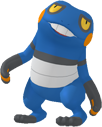 Glibunkel-Sprite aus Pokédex 3D Pro