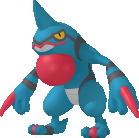 Toxiquak-Sprite aus Pokédex 3D Pro