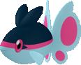 Finneon-Sprite aus Pokédex 3D Pro