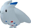 Togekiss-Sprite aus Pokédex 3D Pro