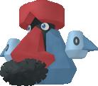 Voluminas-Sprite aus Pokédex 3D Pro