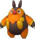 Ferkokel-Sprite aus Pokédex 3D Pro