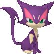 Felilou-Sprite aus Pokédex 3D Pro
