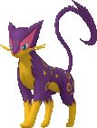 Kleoparda-Sprite aus Pokédex 3D Pro