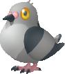 Dusselgurr-Sprite aus Pokédex 3D Pro