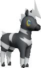Elezeba-Sprite aus Pokédex 3D Pro