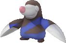 Rotomurf-Sprite aus Pokédex 3D Pro