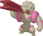 Strepoli-Sprite aus Pokédex 3D Pro