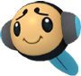 Schallquap-Sprite aus Pokédex 3D Pro
