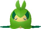 Folikon-Sprite aus Pokédex 3D Pro