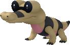 Ganovil-Sprite aus Pokédex 3D Pro