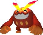 Flampivian-Sprite aus Pokédex 3D Pro