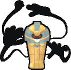Echnatoll-Sprite aus Pokédex 3D Pro
