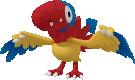 Flapteryx-Sprite aus Pokédex 3D Pro