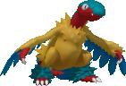 Aeropteryx-Sprite aus Pokédex 3D Pro